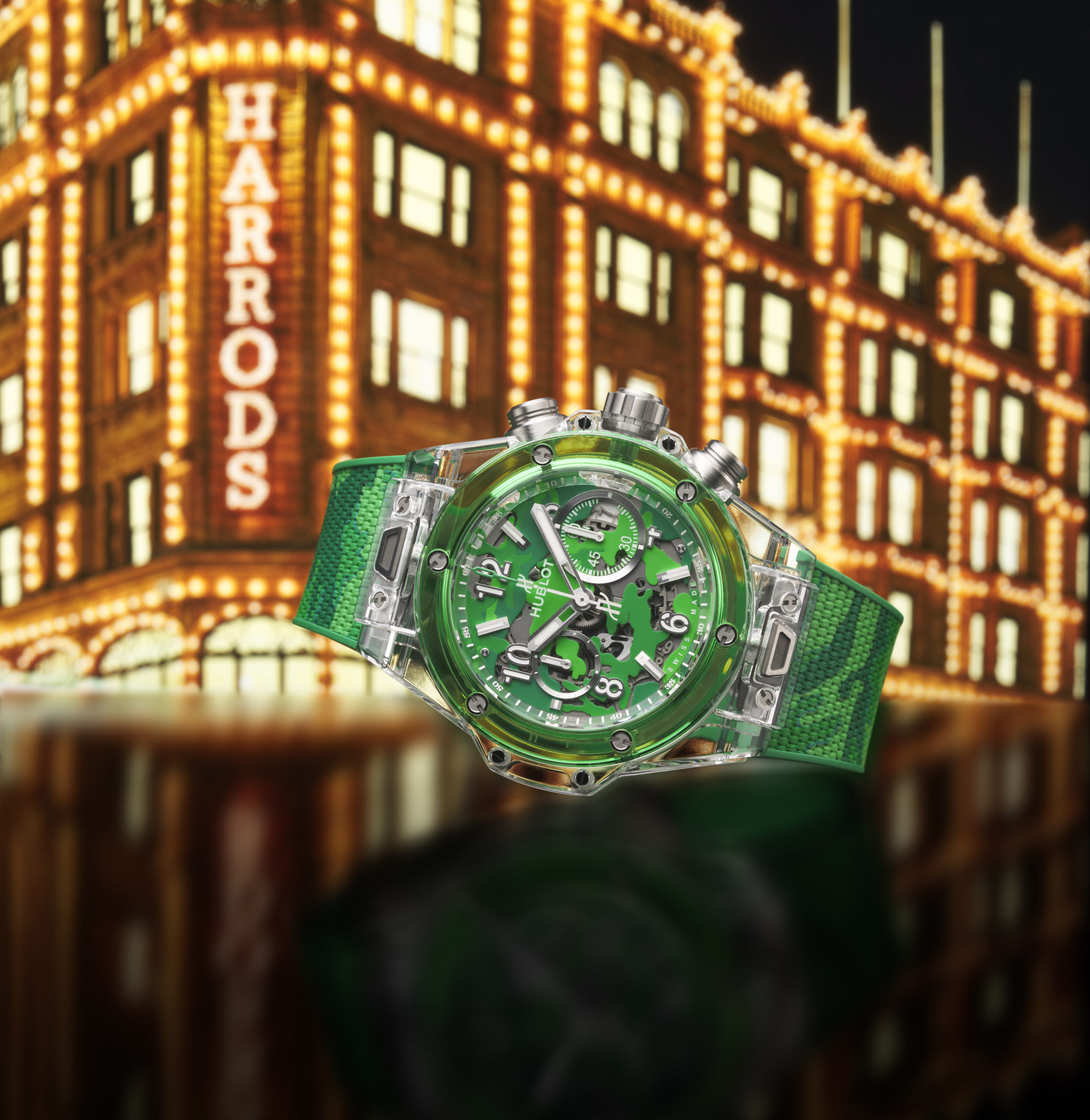 New Release: Hublot's Big Bang Unico Sapphire Harrods Special Edition